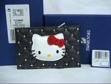 Swarovski Hello Kitty Glamour Card Holder, Black Jet, Crystal MIB - 1133840 JP