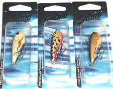 Salmo Chubby Darter 4 Jigs (Lot of 3-Dalmation/Dace/Real Roach-Hard to Find)