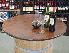 Tischplatte / Holzplatte rund 80/100cm für STEHTISCH, HOLZFASS, FASS, WEINFASS
