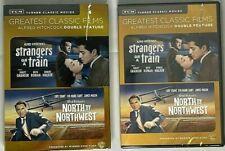 Tcm North by Northwest Strangers on a Train Dvd FastShip Nib New w/SlipCover