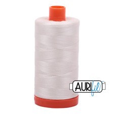 Aurifil 50wt Cotton Thread, 1422yds/1300Mt, Muslin, 2311