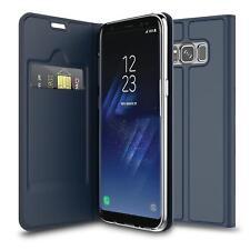 Handy Hülle Samsung Galaxy Note 8 Book Case Schutzhülle Tasche Slim Flip Cover