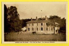 cpa RARE 52 - CIREY sur BLAISE (Hte Marne) Un Coin du PARC La MAISON BLANCHE