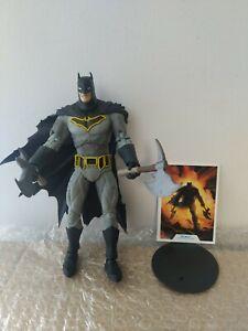Dc multiverse mcfarlane Batman Dark knight metal. In hand