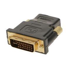 DVI-I Dual Link (24 + 5 broches) mâle vers HDMI standard adaptateur femelle