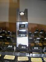FPE NB111020 Stab-lok Circuit Breaker Type NB 20A 1p Bolt-on Used