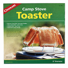 Coghlans Original Camp Stove Toaster Toasts Up To 4 Slices at one time #504D NEW