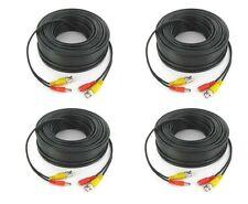 8 Rollsx25FT HEAVY DUTY PREMADE SIAMESE CABLE FOR CCTV CAMERA