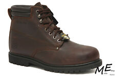 "New Skechers Foreman EH  6"" Steel Toe Hiking Men Boots Sz 11EW - 76890"