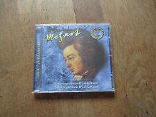 CD MUSIQUE ALBUM MOZART concerto pour violon 4 re majeur & 5 la majeur NEUF FILM