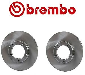For Toyota Tacoma 95-04 Front Set of 2 Disc Brake Rotors Vented 43512 04010