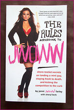THE RULES According to JWOWW - CHAPTER BOOK - Secrets on landing a guy ! - NEW