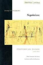 Negotiations: Interventions and Interviews, 1971-2001 by Jacques Derrida...