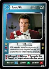 Star Trek CCG TMP The Motion Pictures Admiral Kirk 35R