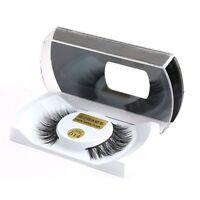 10 Pairs Luxurious 100% Real Mink Fur 3D False Eyelashes Natural Long Eye Lashes