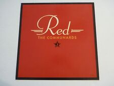 The Communards RED Promo LP Record Photo Flat 12x12 Poster