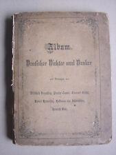Album deutscher Dichter und Denker, 1875