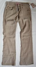 True Religion Joey Women's Corduroy Pants Size W26 L33 With Tags Made in USA