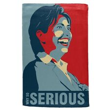 Election 2016 Hillary Clinton Why So Serious Sport Towel