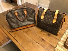 authentic louis vuittons handbags alma pm and poppin court 2 bags