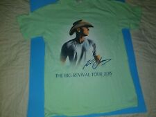 """Kenny Chesney """" The Big Revival Tour 2015 """" Tee [ small ] #"""