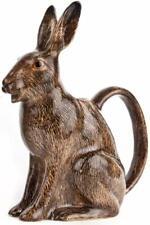 More details for quail ceramics hare milk jug 17cm british wildlife kitchen pottery