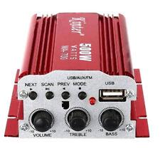 Amplificatore audio 12v usb mp3 per casa e auto 2 canali stereo 500w telecomando