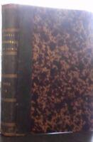 Giornale Di Farmacia E Di Chimica M. MEHU Volume 13 Masson 1886 Parigi ABE