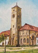 Carina Öl-gemälde uno Chiesa Autografato