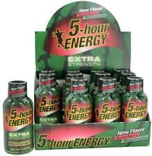 5 Hour Energy Extra Strength Strawberry Waterm12 ct Shots 1.93 oz Sugar Free
