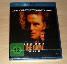 Blu-Ray Disc - The Game - Michael Douglas - Sean Penn - Neu OVP