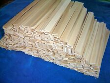 500 Dollhouse Miniatures Sugar Maple Craft Sticks/Flooring/Furniture