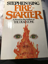 Autographed Stephen King Book, Like New Condition, Firestarter