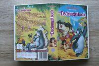 VHS Video Kassette Das Dschungelbuch Walt Disney Zeichentrick Trickfilm Film ++