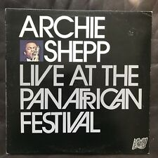 Archie Shepp Live At The Pan-African Festival / Affinity