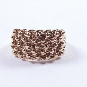 Keeper Bobble Ring 9 carat gold Size L