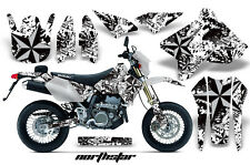 Dirt Bike Graphics Kit MX Decal Wrap For Suzuki DRZ400SM 2000-2018 NORTHSTAR S W