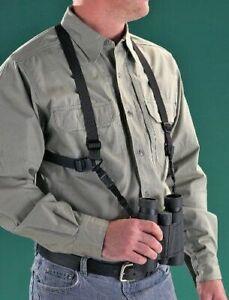 Burris Neck Relief Bino Caddy Strap Harness - Hunting NO BOX
