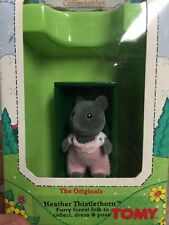 Sylvanian Families Collectible Heather Thistlethorn New in Box TOMY Toys Vintage
