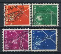 Switzerland 1952 Mi. 519-521 Used 100% Telecom