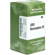 JSO BICOMPLEX Heilmittel Nr. 22 150St PZN: 0545030
