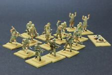 1/72 scale well painted AIRFIX AFRIKA KORPS 16 figures