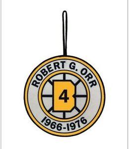 BOBBY ORR BOSTON BRUINS RETIREMENT BANNER #4 1966-1975 NEW