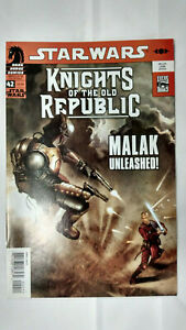 STAR WARS KNIGHTS OF THE OLD REPUBLIC #42  1st Printing        / 2009 Dark Horse