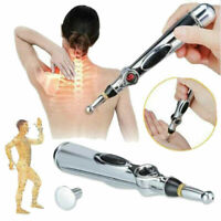 Therapy Electronic Acupuncture Pen Meridian Energy Heal Massage Pain Relief Sd