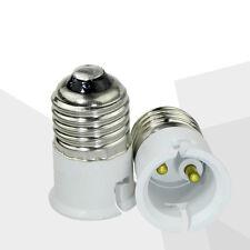 2x Edison Screw E27 To Bayonet B22 Cap Light Bulb Adaptor Lamp Converter Holder