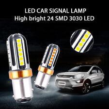 2X 1156 LED Backup Reverse Lamp Light  White 6500K Bulbs Turn Signal Parking