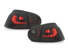 Für VW Golf 5 V Original Litec LED Rückleuchten Schwarz mit dynamischer Blinker