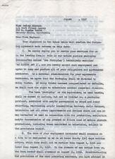 AUDREY HEPBURN - ORIGINAL copy of Film Contract for The Nun's Story 1957 - FILM