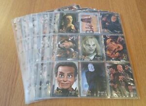 BUFFY THE VAMPIRE SLAYER-THE STORY SO FAR TRADING CARDS BY IKON 2000 COLLECTION